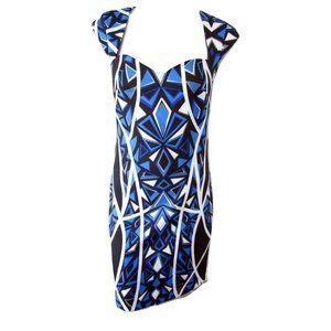 Laundry by Shelli Segal Geometric Print Dress 4